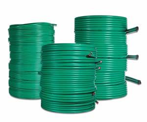 Green PE100 Geothermal Pipe